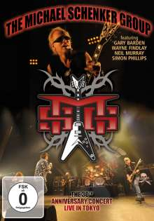 Michael Schenker: Live In Tokyo: The 30th Anniversary Concert 2010, DVD
