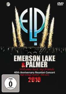 Emerson, Lake & Palmer: 40th Anniversary Reunion Concert: High Voltage Festival, DVD