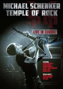 Michael Schenker: Temple Of Rock: Live In Europe, DVD