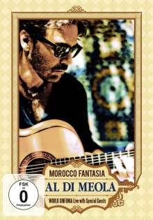 Al Di Meola (geb. 1954): Morocco Fantasia, DVD
