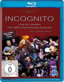 Incognito: Live In London: The 30th Anniversary Concert 2009, Blu-ray Disc