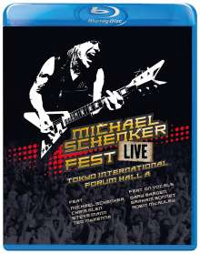 Michael Schenker: Fest - Live Tokyo International Forum Hall A, Blu-ray Disc