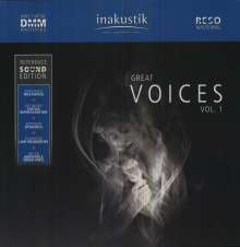 Reference Sound Edition: Great Voices Vol.1 (180g) (Limited Edition), 2 LPs