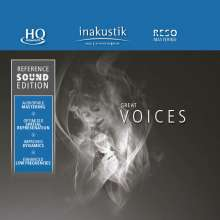 Reference Sound Edition: Great Voices (HQCD), CD