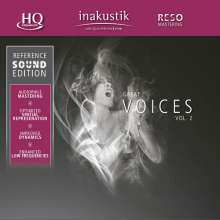 Reference Sound Edition: Great Voices Vol.2 (HQCD), CD