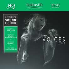 Reference Sound Edition: Great Voices Vol. 3 (HQCD), CD