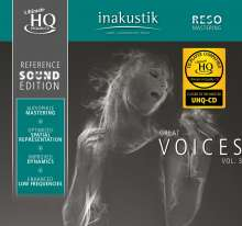 Reference Sound Edition: Great Voices Vol. 3 (UHQ-CD), CD