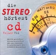 Stereo Hörtest Vol. VII, CD