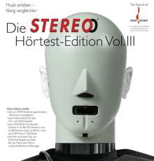 Die Stereo Hörtest Edition Vol. III (180g) (Limited Edition) (LP + SACD + DVD-ROM + Blu-ray Audio), LP