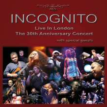 Incognito: Live In London: The 30th Anniversary Concert 2009, 2 CDs