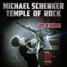 Michael Schenker: Temple Of Rock: Live In Europe, 2 CDs