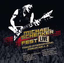 Michael Schenker: Fest - Live Tokyo International Forum Hall A, 2 CDs