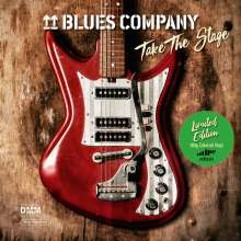 Blues Company: Take The Stage (180g) (Limited Edition) (Green Vinyl) (signiert) (exklusiv für jpc!), 2 LPs
