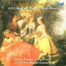 Carl Philipp Emanuel Bach (1714-1788): Cembalokonzerte Wq.14 & 43,5, CD