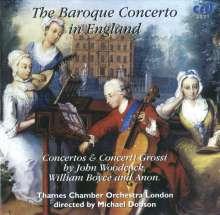 The Baroque Concerto in England, CD