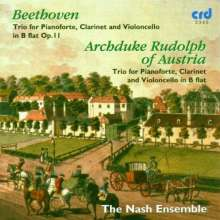 Rudolf Erzherzog von Österreich (1788-1831): Trio B-Dur für Klavier,Klarinette & Cello, CD
