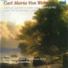 Carl Maria von Weber (1786-1826): Flötentrio g-moll, CD