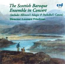 The Scottish Baroque Ensemble, CD