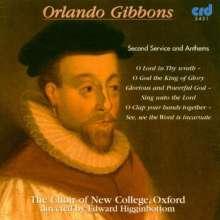 Orlando Gibbons (1583-1625): Geistliche Musik, CD