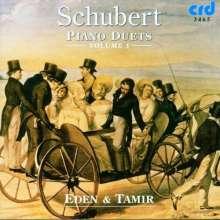 Franz Schubert (1797-1828): Klavierwerke zu vier Händen Vol.1, CD
