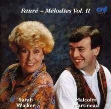 Gabriel Faure (1845-1924): Lieder Vol.2, CD