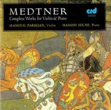 Nikolai Medtner (1880-1951): Werke für Violine & Klavier, 2 CDs