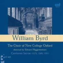 William Byrd (1543-1623): Cantiones Sacrae (1575/1589/1591), 3 CDs