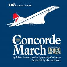 London Symphony Orchestra - Concorde March, Maxi-CD