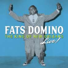 Fats Domino: The King Of New Orleans Live!, 3 CDs