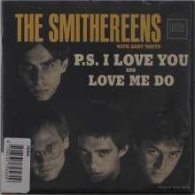 "The Smithereens: Love Me Do / P.S. I Love You, Single 7"""