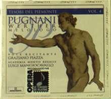 Gaetano Pugnani (1731-1798): Werther (Melolog), 2 CDs