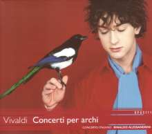 Antonio Vivaldi (1678-1741): Concerti für Streicher Vol.1, CD