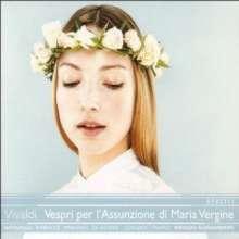 Antonio Vivaldi (1678-1741): Vespri per l'Assunzione di Maria Vergine, 2 CDs