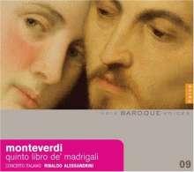 Claudio Monteverdi (1567-1643): Madrigali Libro 5, CD