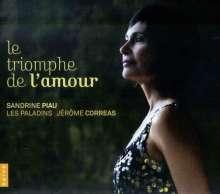 Sandrine Piau - Le Triomphe de l'Amour, CD