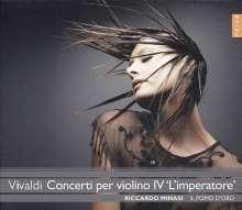 Antonio Vivaldi (1678-1741): Violinkonzerte RV 171,181,263a,271,327,331,391, CD