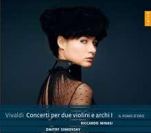 Antonio Vivaldi (1678-1741): Konzerte für 2 Violinen & Streicher Vol.1, CD