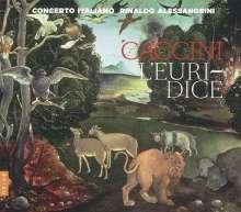 Giulio Caccini (1545-1618): L'Euridice, CD