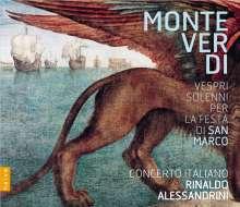 Claudio Monteverdi (1567-1643): Vespri Solenni Per La Festa Di San Marco, 1 CD und 1 DVD