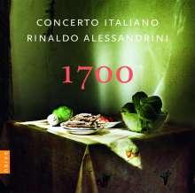 Concerto Italiano - 1700, CD