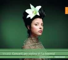 """Antonio Vivaldi (1678-1741): Violinkonzerte RV 186,278,282,288,330,380 - """"La Boema"""", CD"""