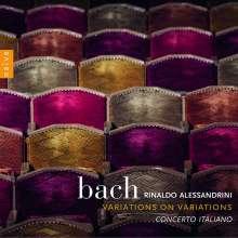 Johann Sebastian Bach (1685-1750): Goldberg-Variationen BWV 988 für 2 Violinen,Viola,Cello,Violone,Bc, CD