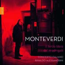 Claudio Monteverdi (1567-1643): Madrigali Libro 3, CD