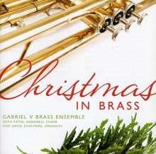 Gabriel V. Brass Ensemble - Christmas in Brass, CD
