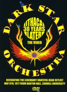 Dark Star Orchestra: Ithaca 30 Years Later, DVD