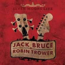 Jack Bruce & Robin Trower: Seven Moons Live, CD