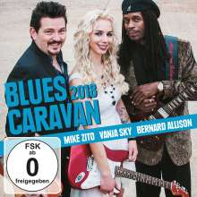 Blues Caravan 2018, 1 CD und 1 DVD