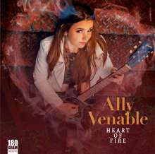 Ally Venable: Heart Of Fire (180g), LP
