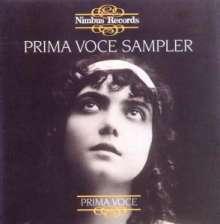 Nimbus Prima Voce Sampler, CD