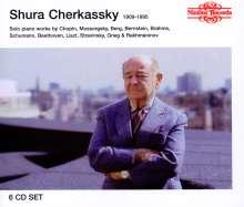 Shura Cherkassky,Klavier, 6 CDs